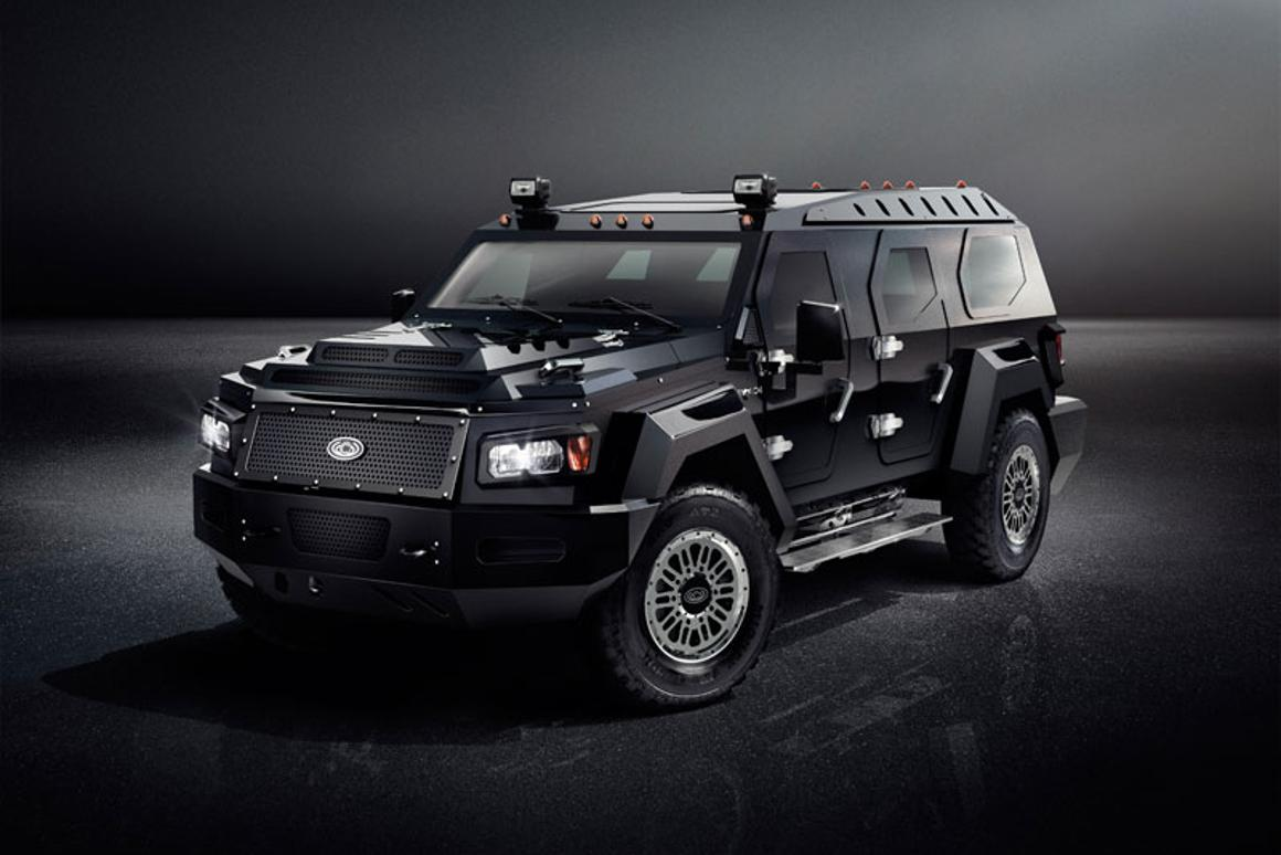 Conquest Vehicles' first unarmored SUV
