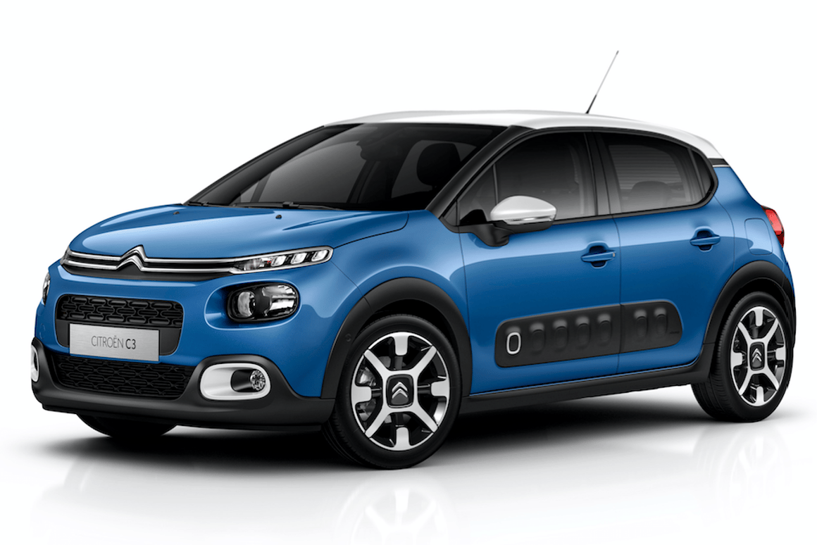 The new Citroen C3 can be customized to within an inch of its life