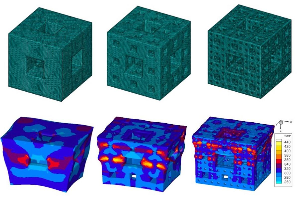 Fractal void cubes could make for better shock-dissipating armor