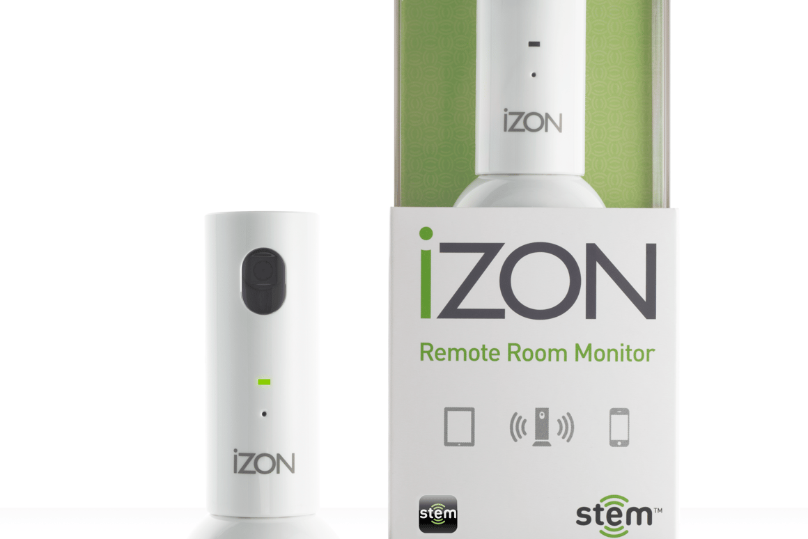 App-based remote room monitoring system for iPad and iPhone