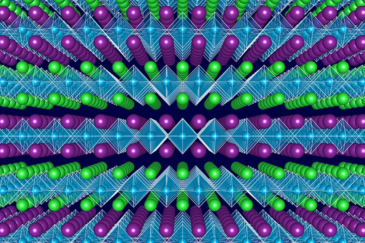 A new theoretical result could lead to designing semiconductors with ideal efficiency for laser, solar cells, and converting sunlight directly into chemical fuel (Image: Northwestern University)