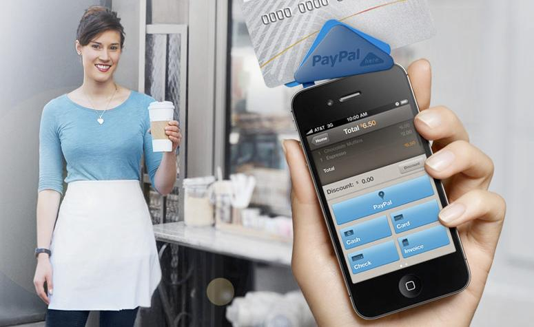 PayPal's new Here system is designed to allow easy payment using smartphones