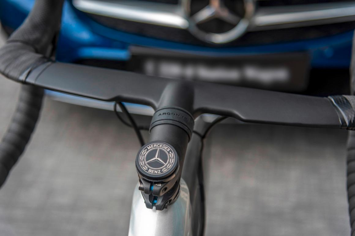 Mercedes-Benz teams up with Argon 18 on new road bike