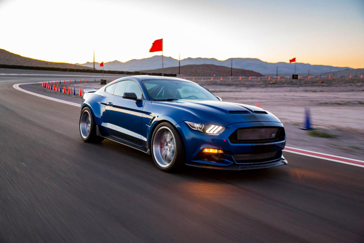 The Mustang Super Snake wide body