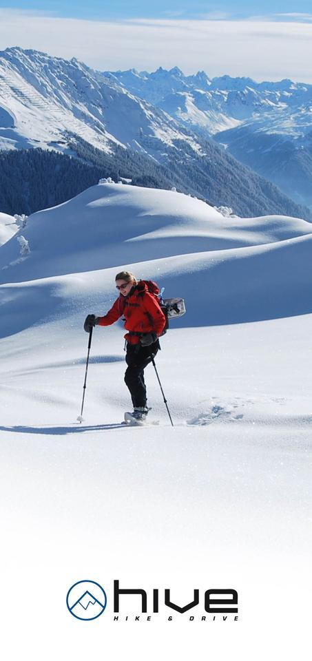 Hive gives snowshoeing a whole new dynamic