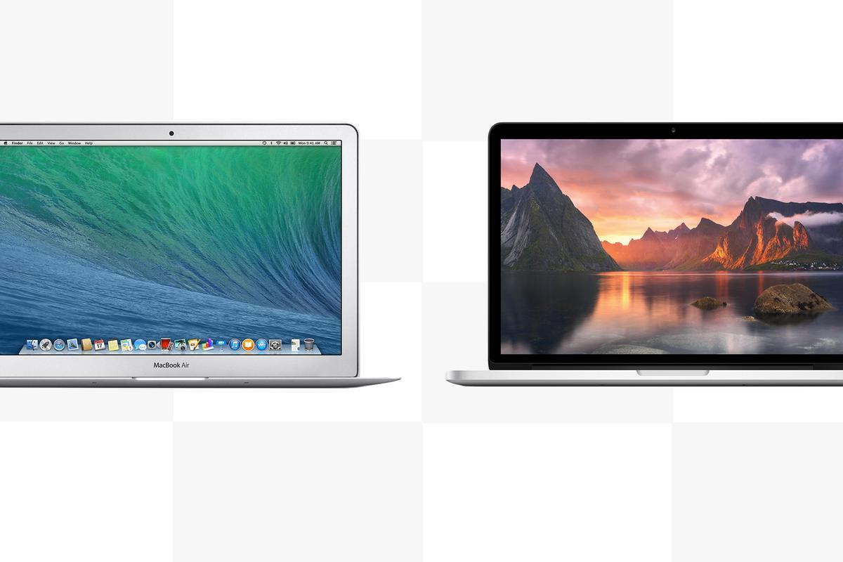 Gizmag compares the features and specs of the (early 2014) 13-in MacBook Air and the (late 2013) 13-in MacBook Pro with Retina Display