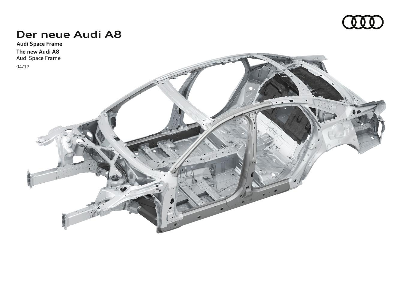 A closer look at the chassis underpinning the new Audi A8
