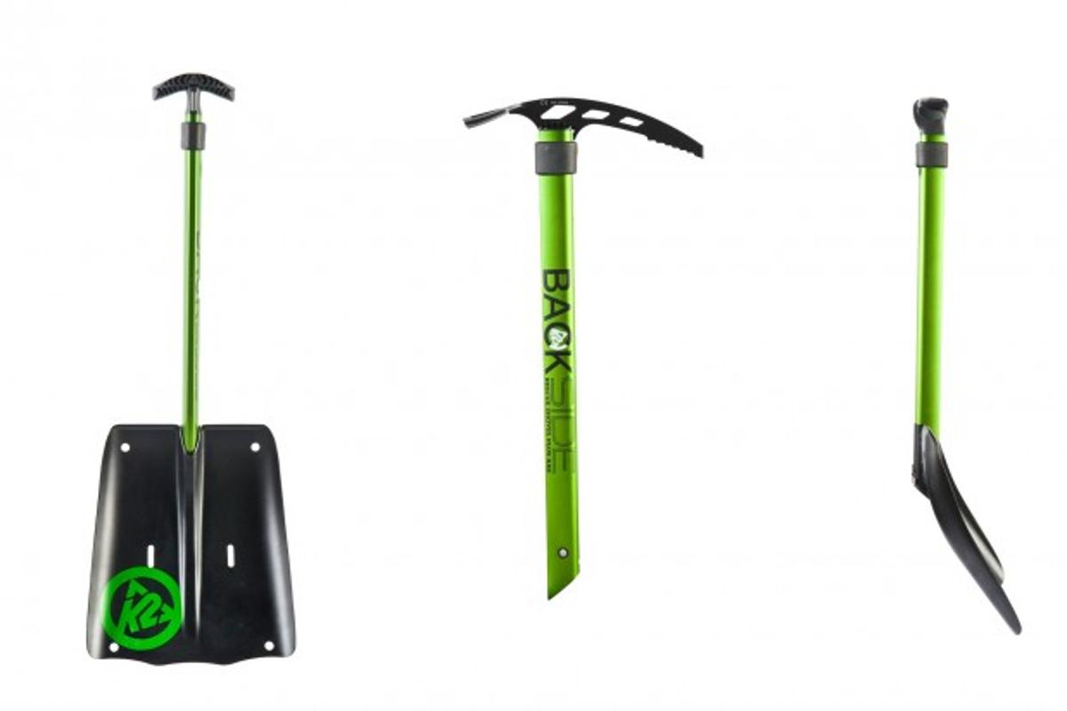 Shovel, ice axe and other functions