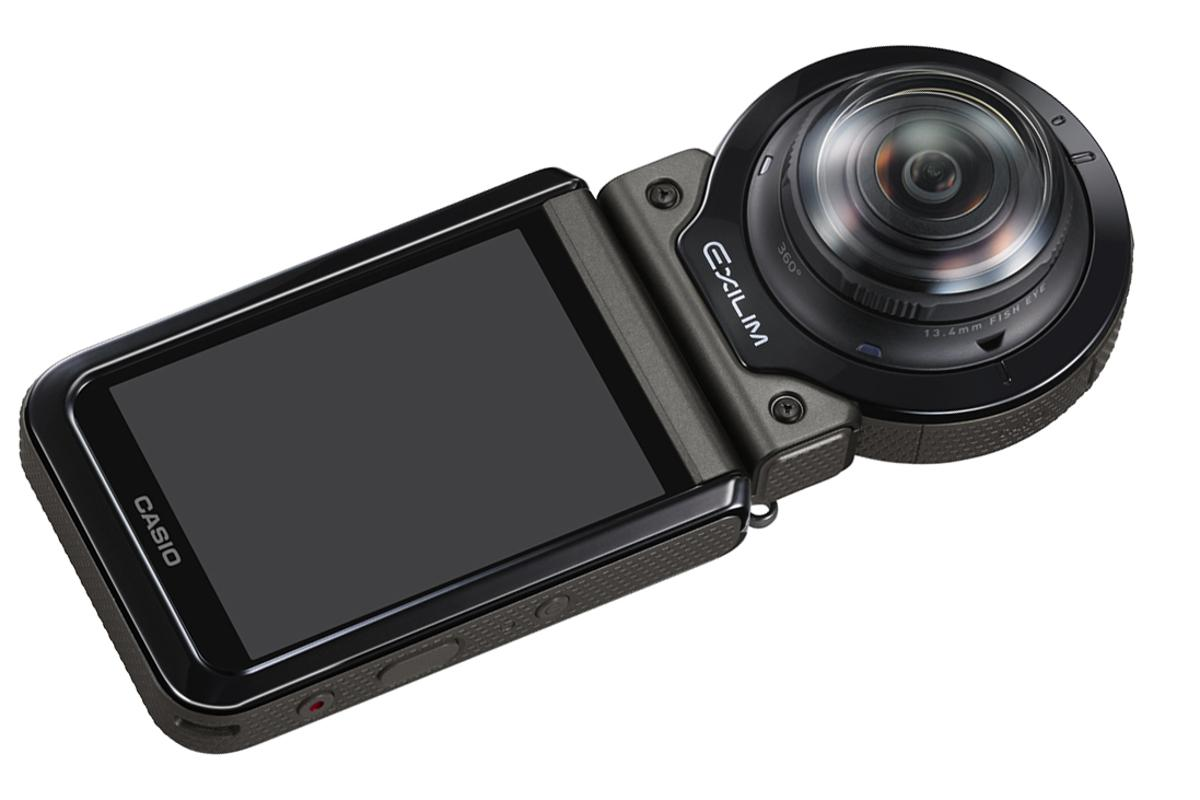 The Casio EX-FR200 is a rugged, wide angle modular camera