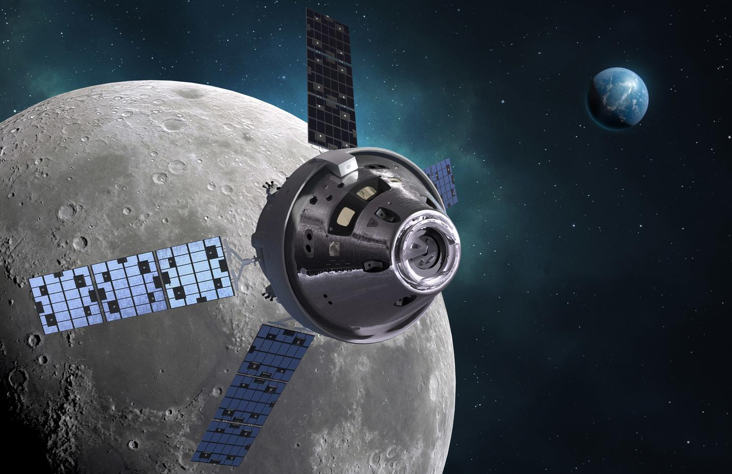 Orion is NASA's deep space exploration spaceship