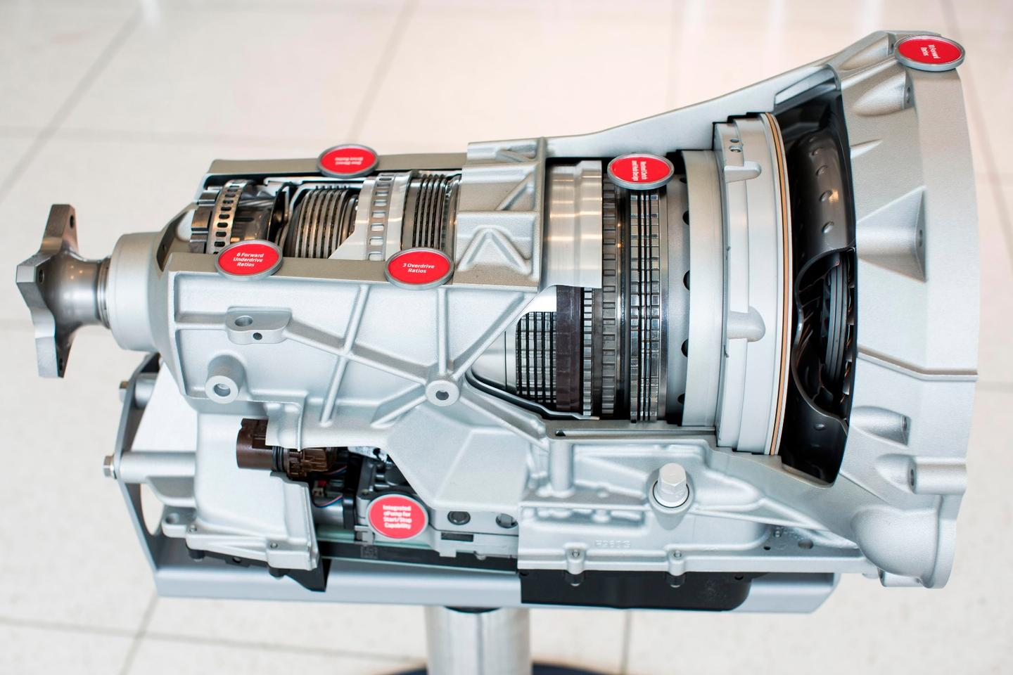 The 10-speed automatic in the F-150