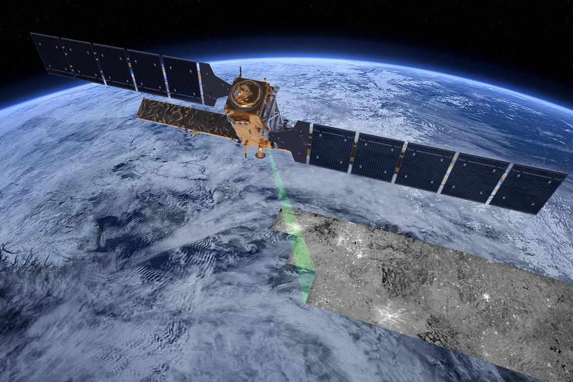 Sentinel-1 is the first satellite to be launched as part of Copernicus, an earth observation initiative spearheaded by the European Commission in partnership with the European Space Agency, and the European Environment Agency (Image: ESA/ATG medialab)