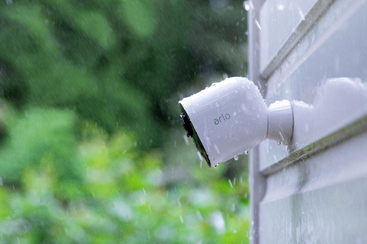 The Arlo Ultra benefits from a weatherproof design for indoor/outdoor flexibility