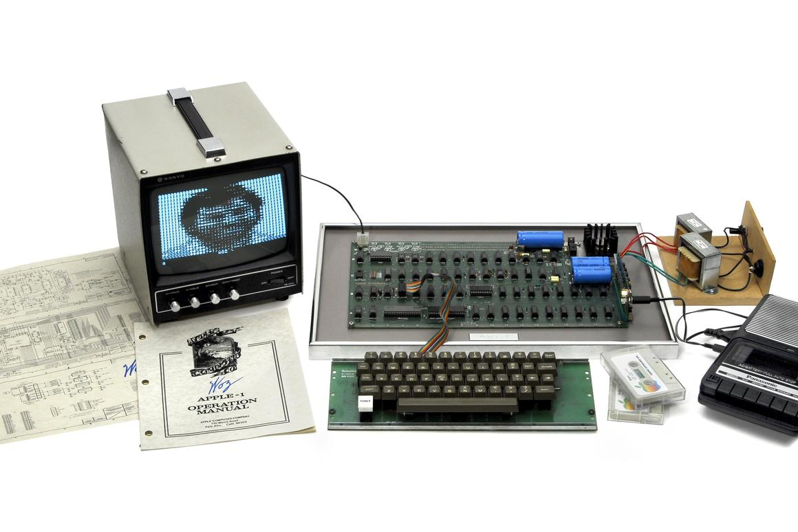 One of the six remaining fully-operational Apple I computers in the world is up for auction next month