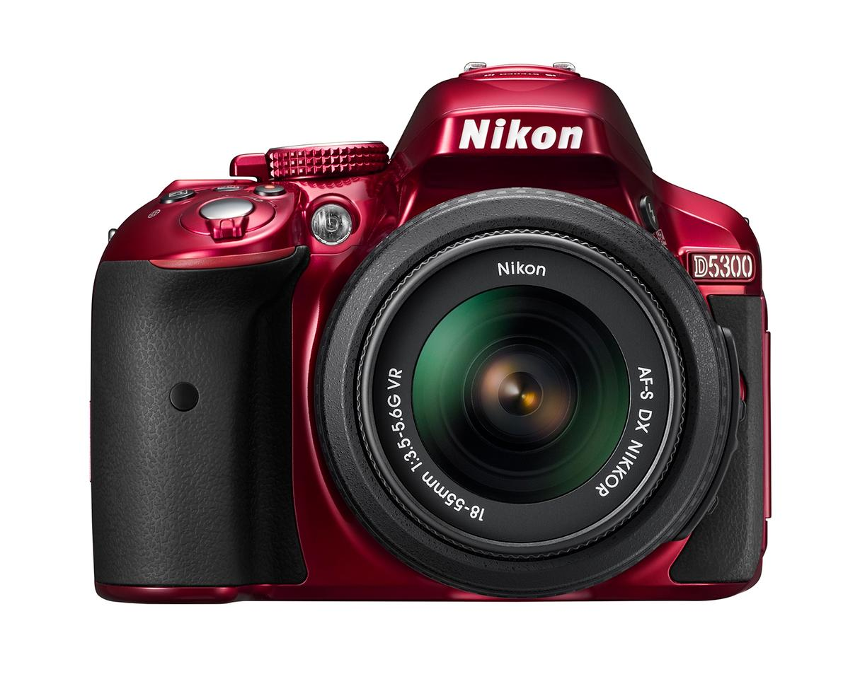 The D5300 is the first Nikon DSLR to include built-in wireless capabilities