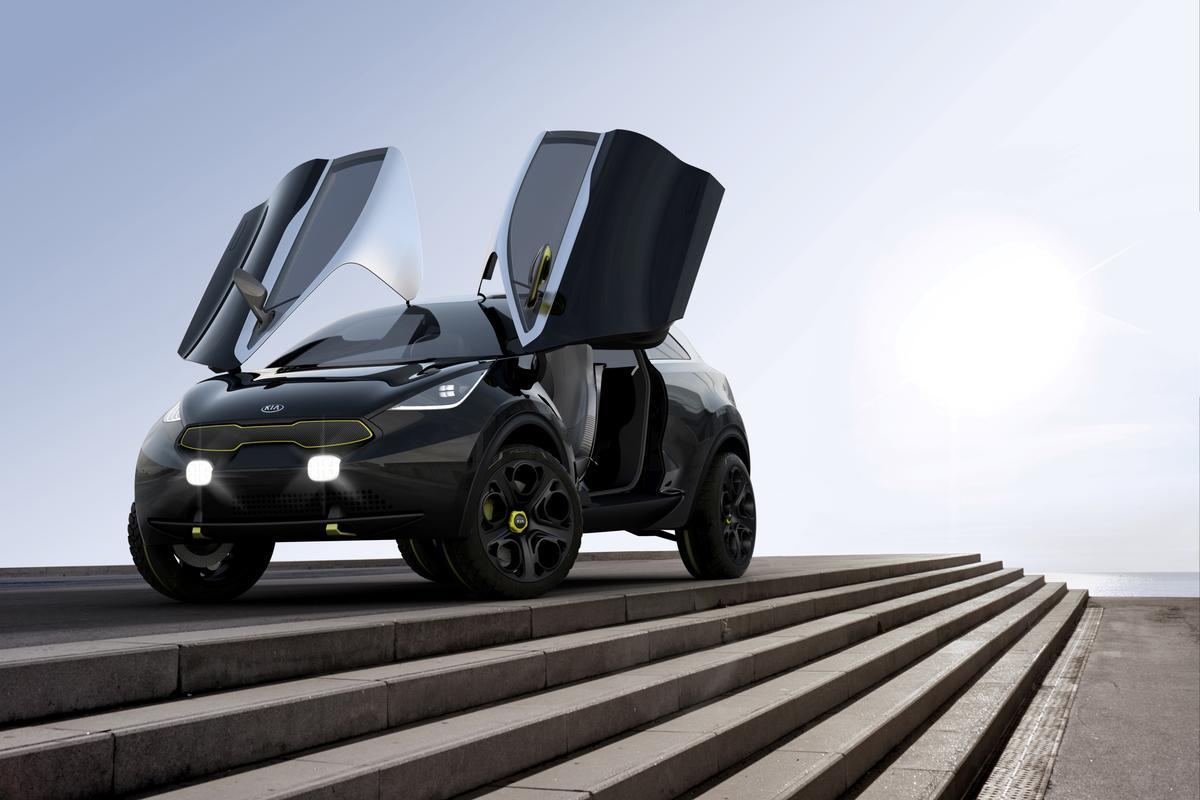 The Kia Niro concept car