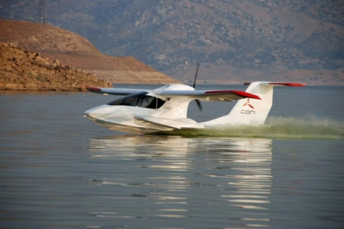 ICON A5 - first flightPhoto: ICON Aircraft