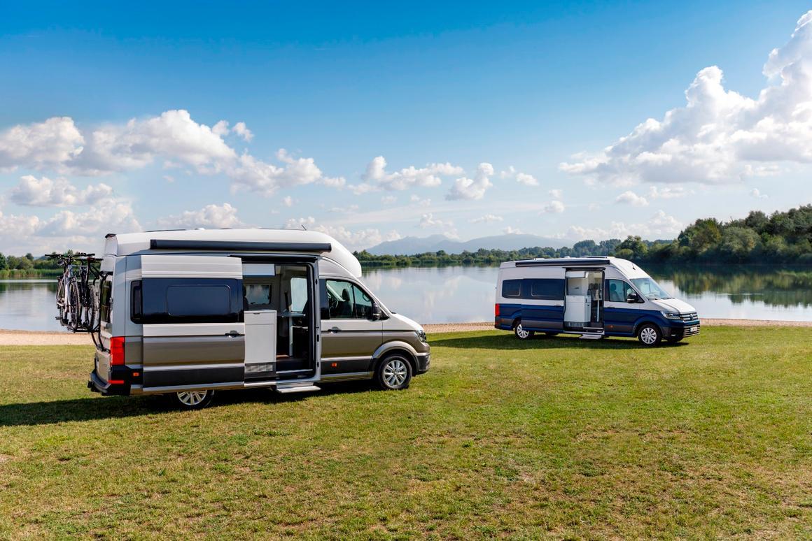 Vw camper 2019  VW unveils new California camper van  2019-08-20