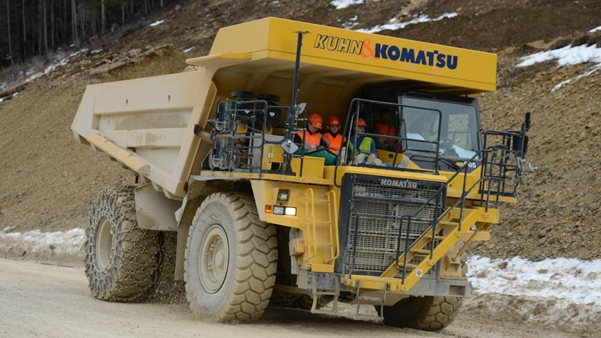 A team of researchers in Swtizerland is converting a Komatsu diesel dumper truck into an all-electric vehicle, set to be the world's largest