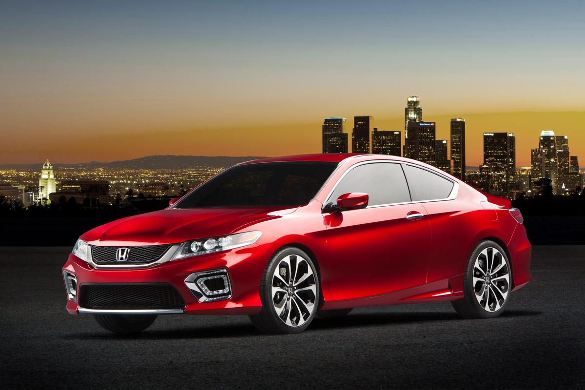 Honda's Accord Coupe Concept unveiled at NAIAS 2012