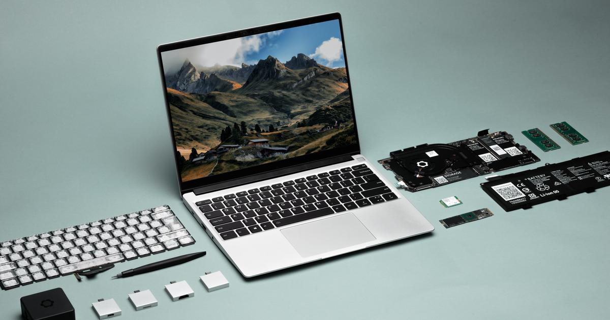 Framework Laptop designed for customization and repair