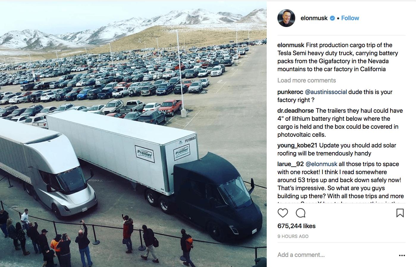 Elon Musk on Instagram
