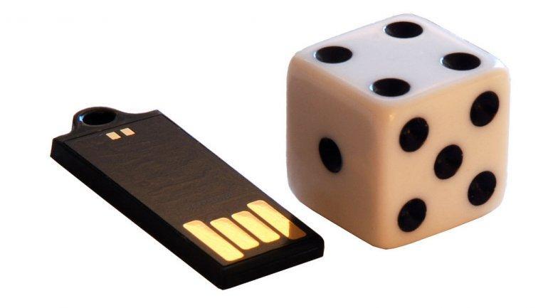The diminutive 16GB Wink USB Drive