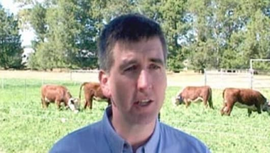 Dr. Andrew Fisher of the CSIRO Photo: CSIRO