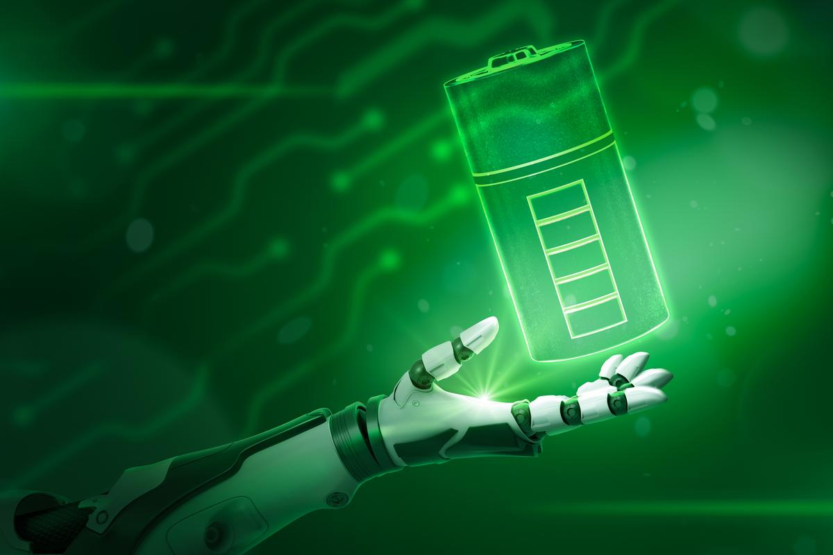 A new type of structural battery could greatly improve the energy efficiency of robots, by simulating the functions of a biological fat reserve