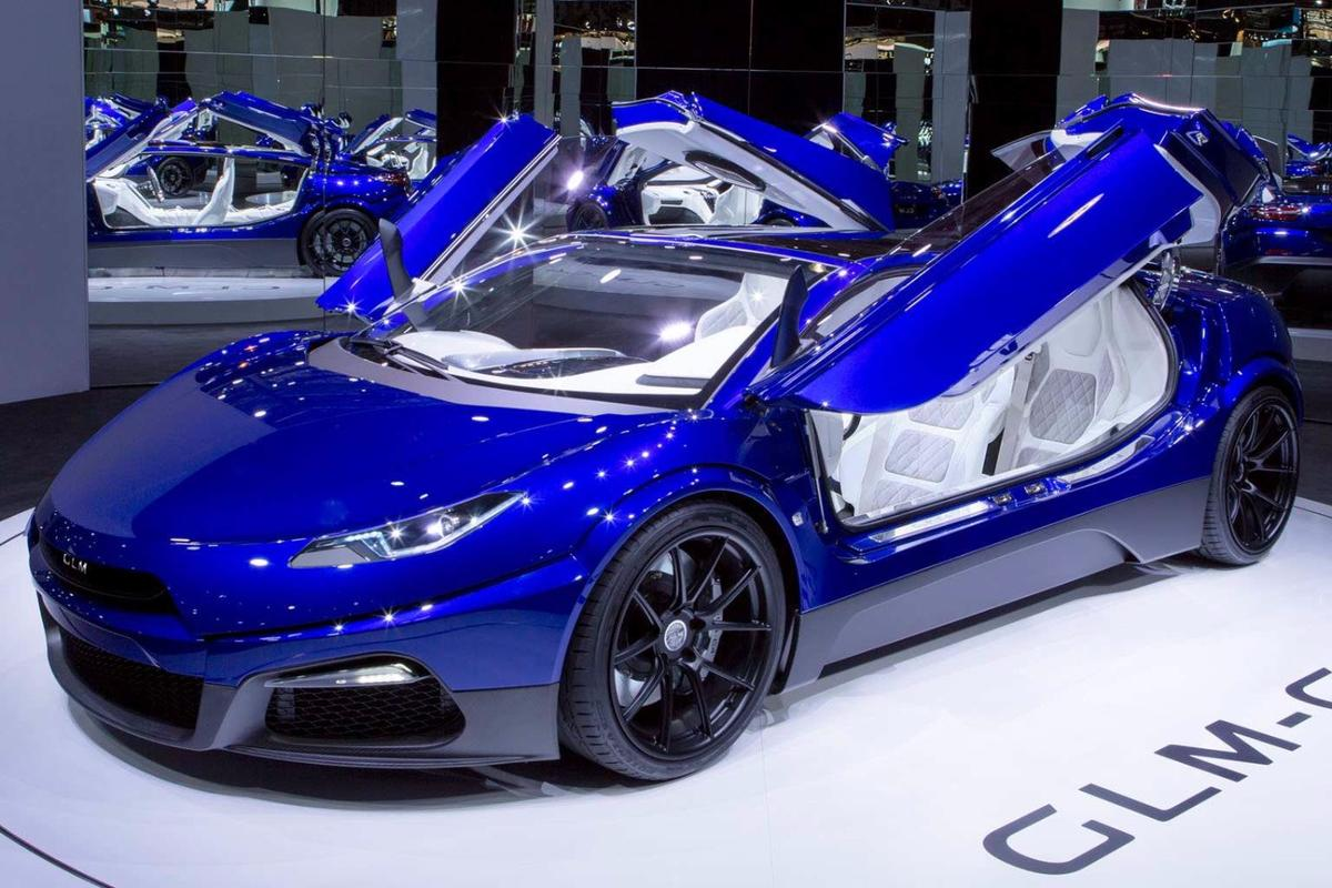 GLM wowed the crowds in Paris with the G4 supercar