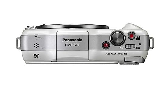 The Panasonic Lumix DMC-GF3