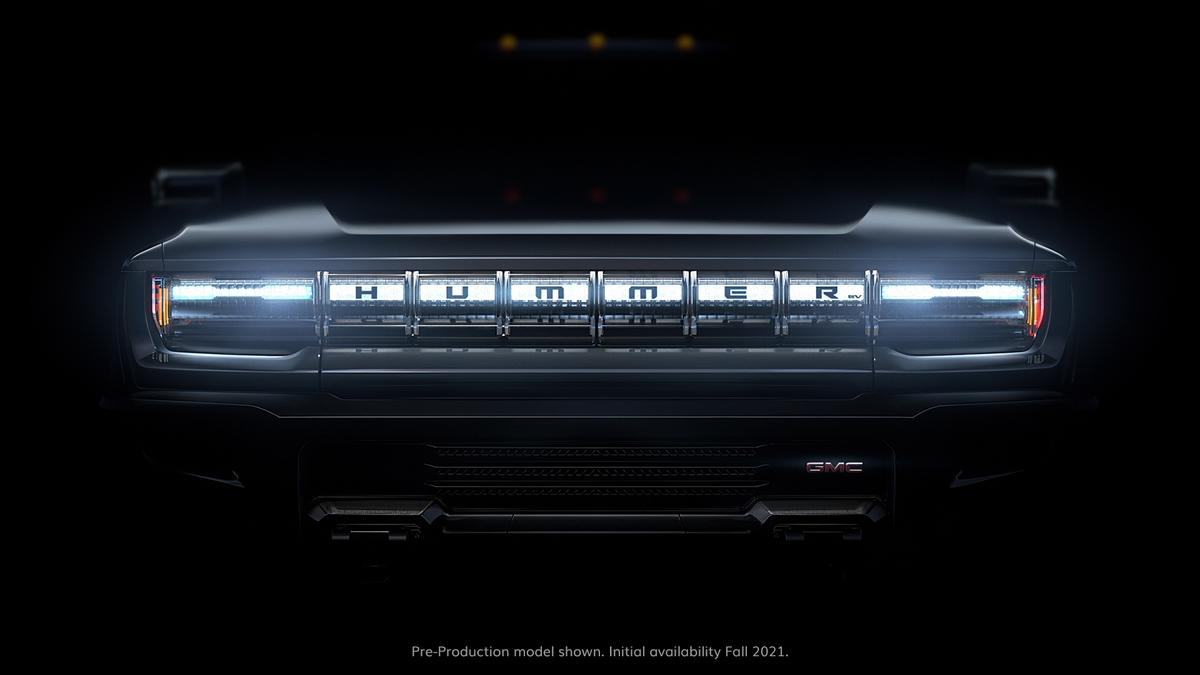 GM teases the new face of Hummer