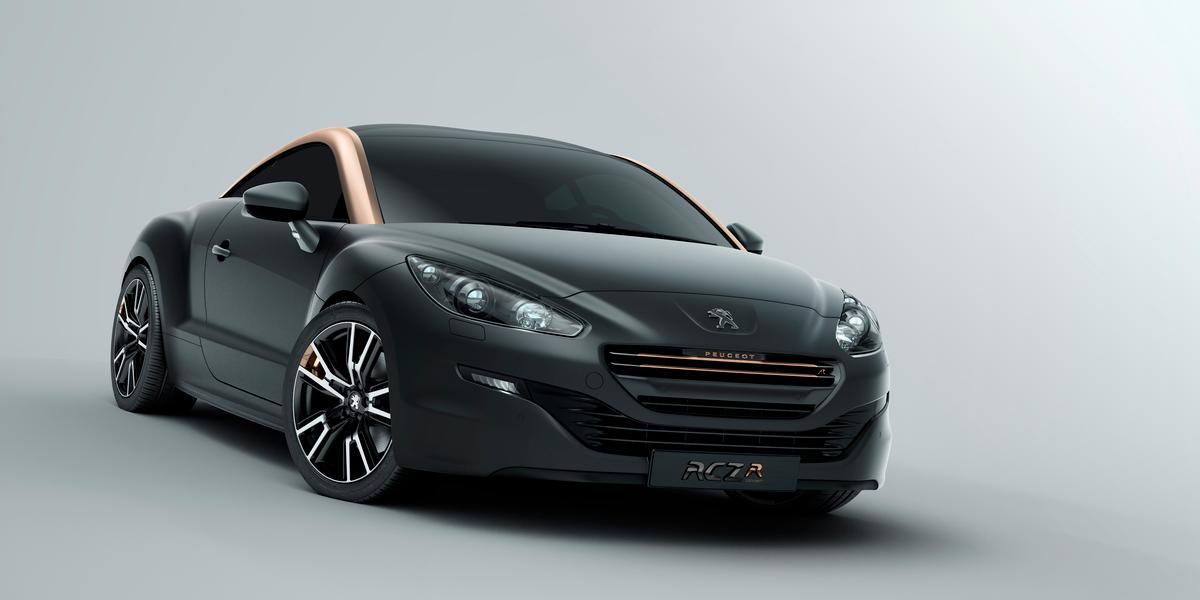 The RCZ R concept debuted at last year's Paris Motor Show