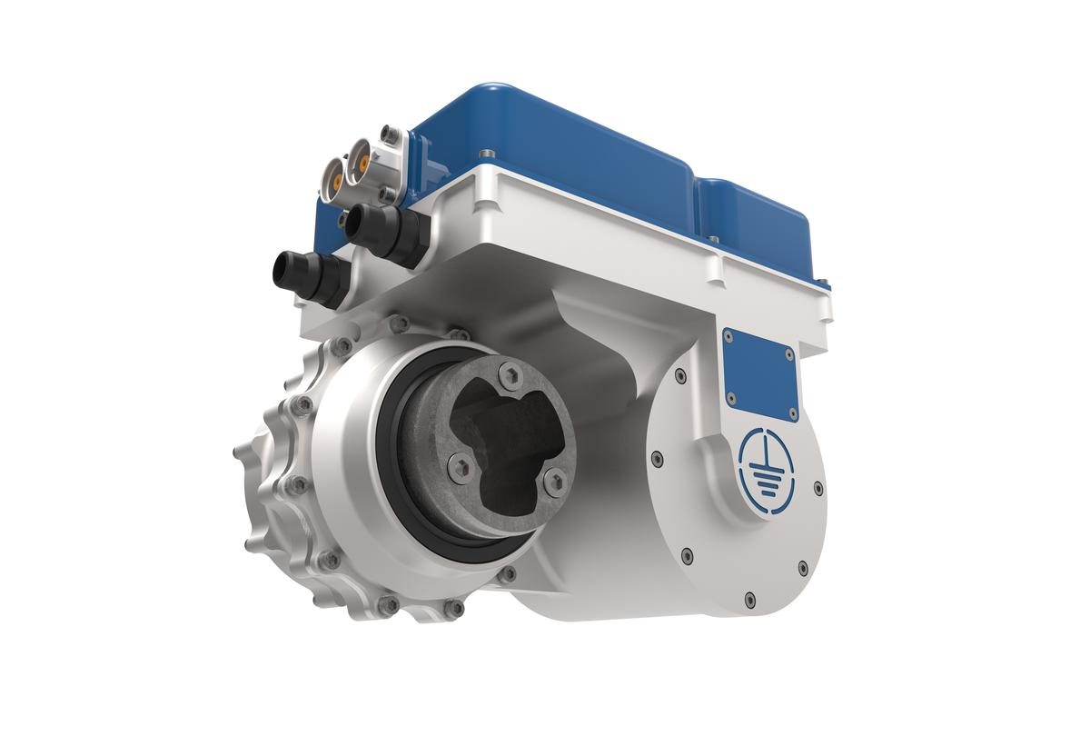 The Ampere offers a massive 220 kW at a weight under 10 kg
