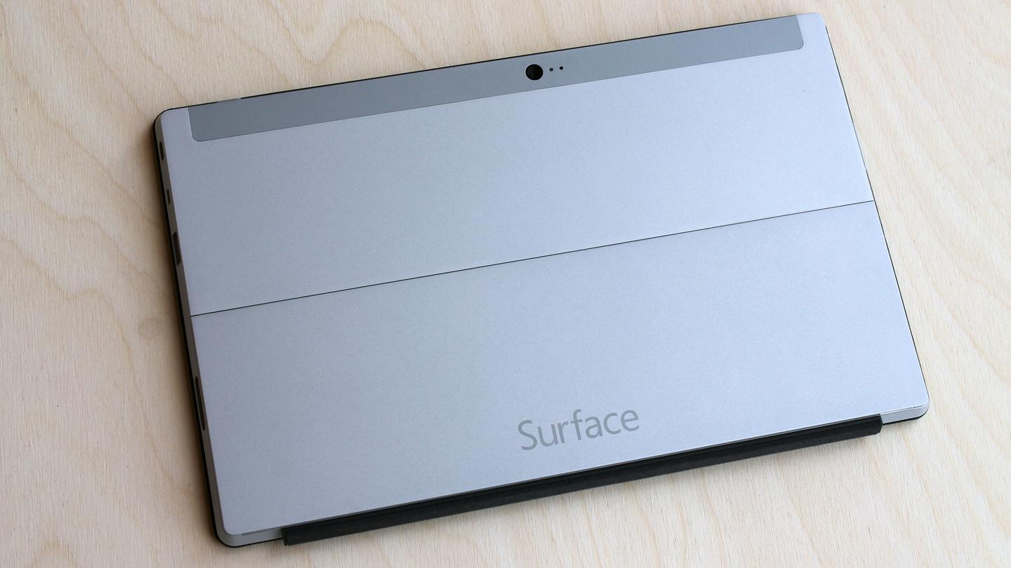 The magnesium alloy build of the Surface 2 easily makes it one of the sharpest looking (and feeling) tablets around
