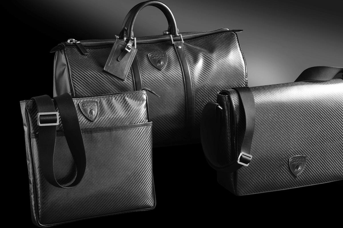 Lamborghini has taken the next logical step in its development of carbon fiber by launching a line of bags