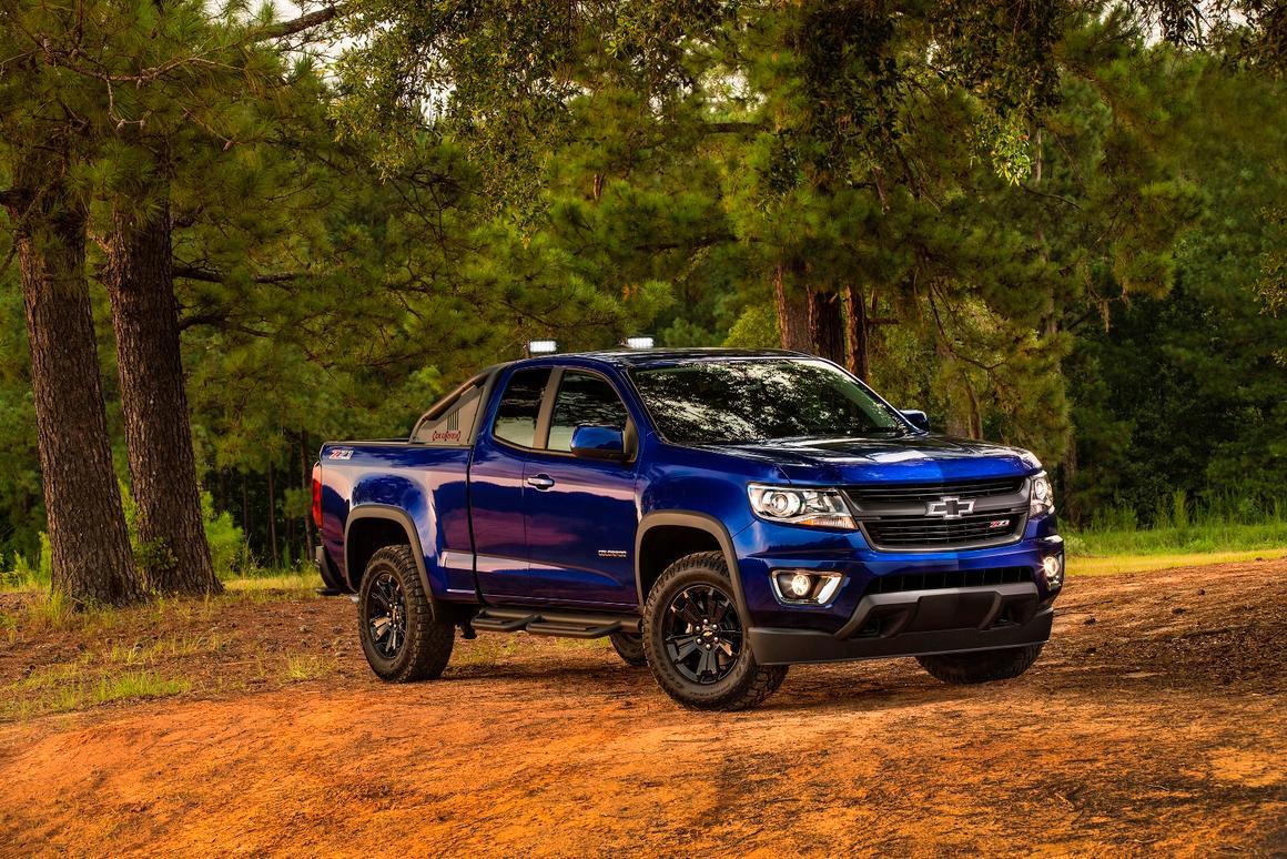 Chevy announces the 2016 Colorado Z71 Trail Boss