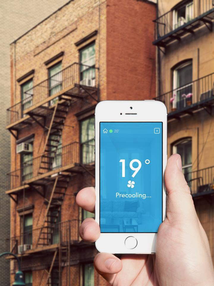 When a resident is approaching home, Tado turns the air conditioner on again to pre-cool the house to the user's preferred temperature