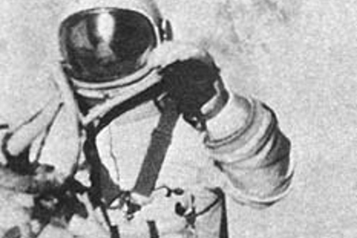 The first spacewalk by Alexei Leonov lasted only 12 minutes