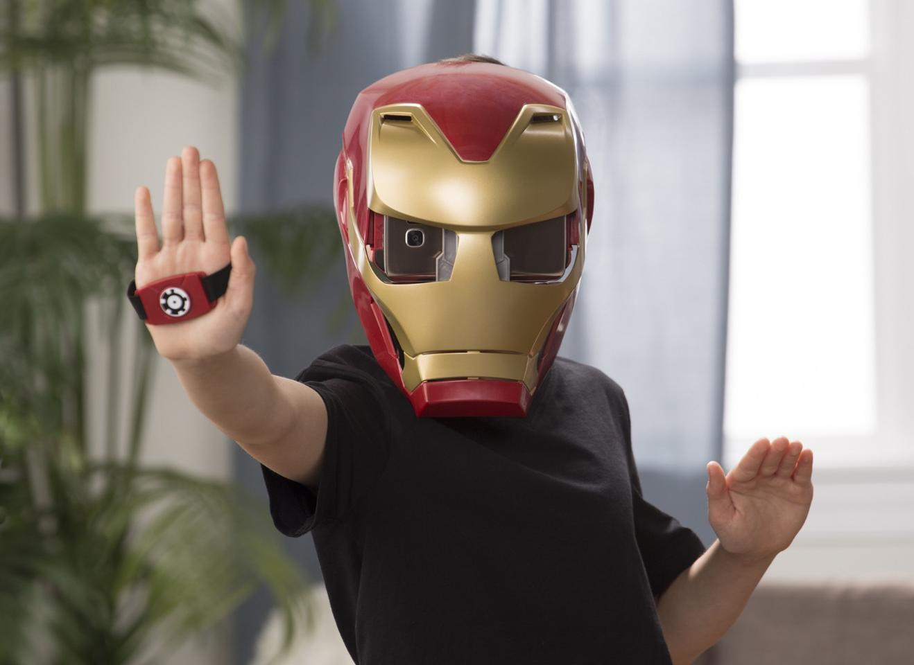 The Iron Man AR Experience lets kids play out their superhero wishes in Augmented Reality