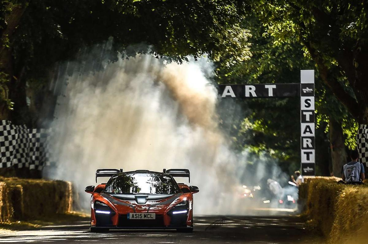 Some of the finest supercars on Earth took on the hillclimb at the 2018 Goodwood Festival of Speed