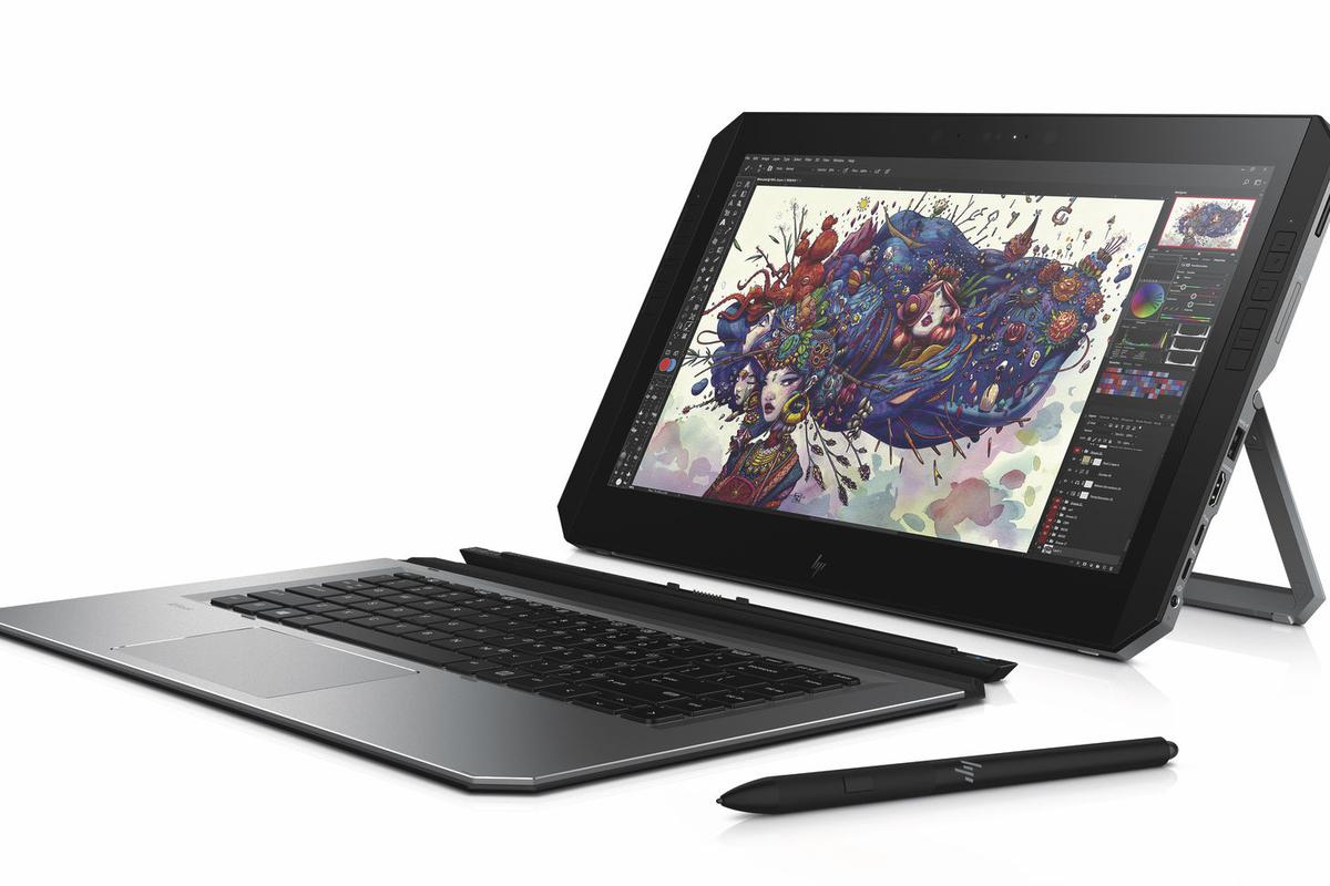 HP is calling the ZBook x2  the world's first detachable PC workstation