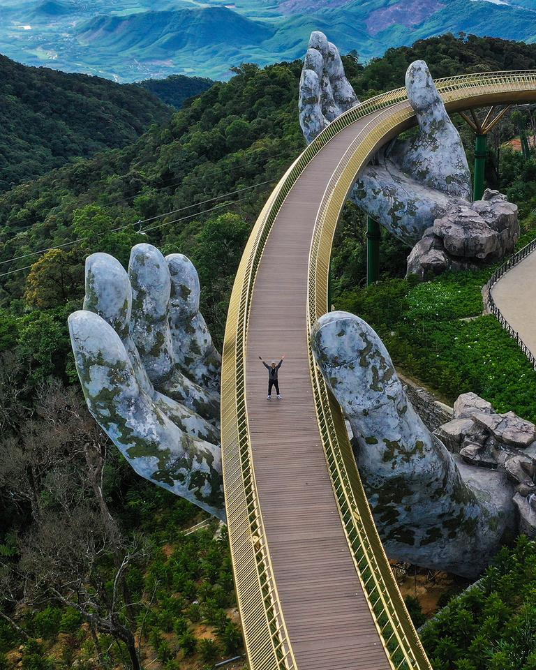 Winner - 'Golden Bridge'. Danang, Vietnam
