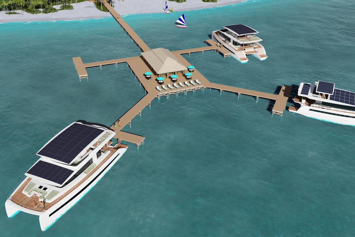 Plans call for the use of Silent 60 and 80 yachts in the resorts