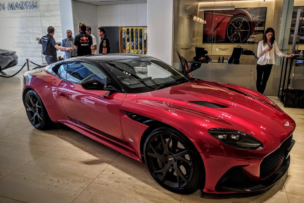 The DBS Superleggera at Aston Martin Melbourne