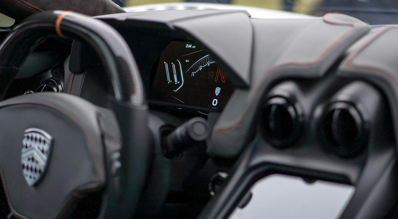 The Tuatara features a digitized cockpit