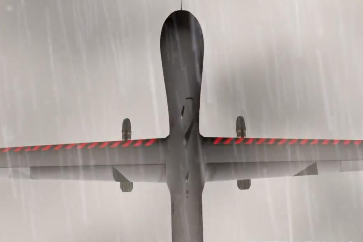 The HeatCoat system uses a layer of carbon nanotubes to heat surfaces of the aircraft and prevent ice forming