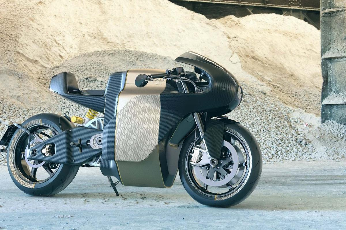 The Manx7 is Saroléa's first race-derived streetbike