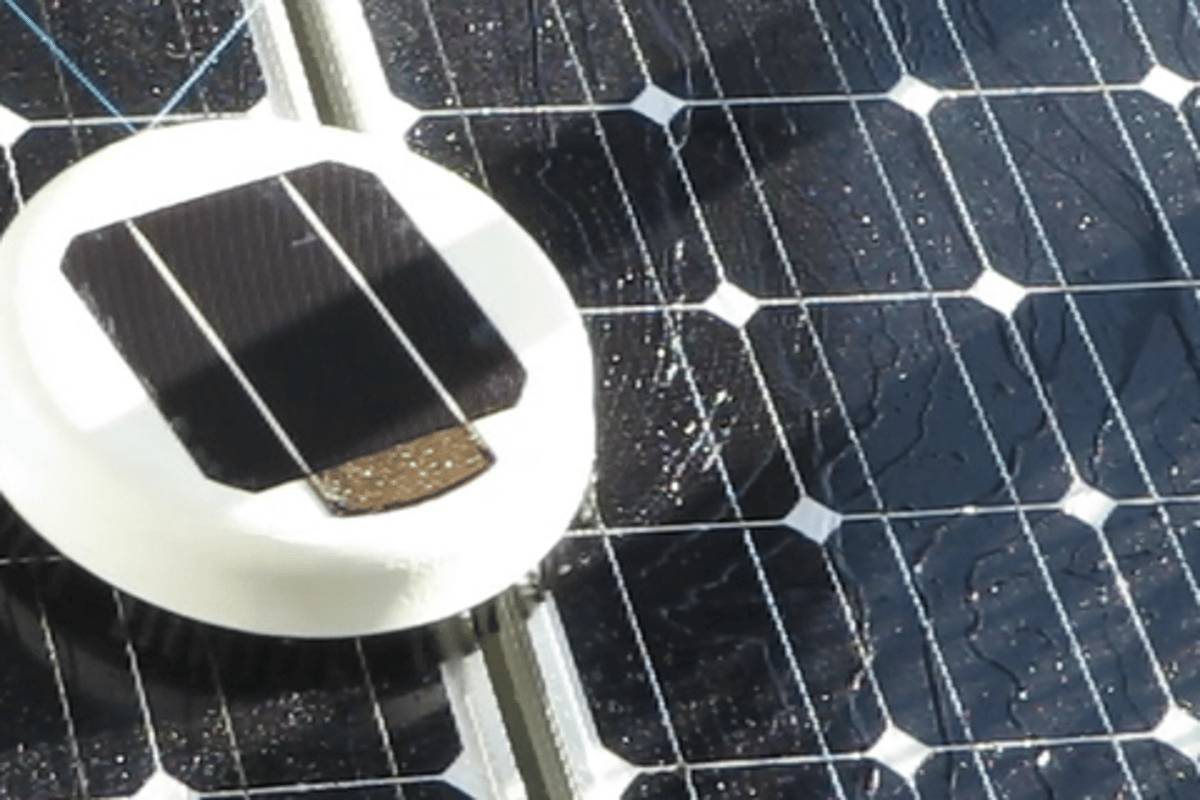 Scrobby is an autonomous robot prototype designed to keep domestic solar panels clean and clear