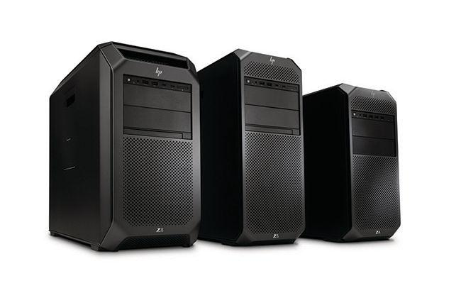 HP's new Z range of workstations will be available starting October 2017